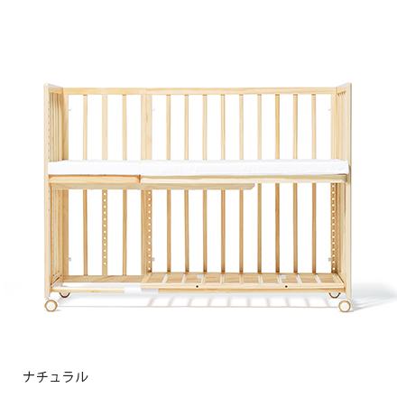 【ママ割エントリーで+5倍】大和屋 yamatoya そいねーる+ロング ナチュラル床板すのこモデル / 添い寝ーるロング そいねーるプラスロング【ラッキーシール対応】
