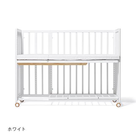 大和屋 yamatoya そいねーる+ロング ホワイト床板すのこモデル / 添い寝ーるロング そいねーるプラスロング