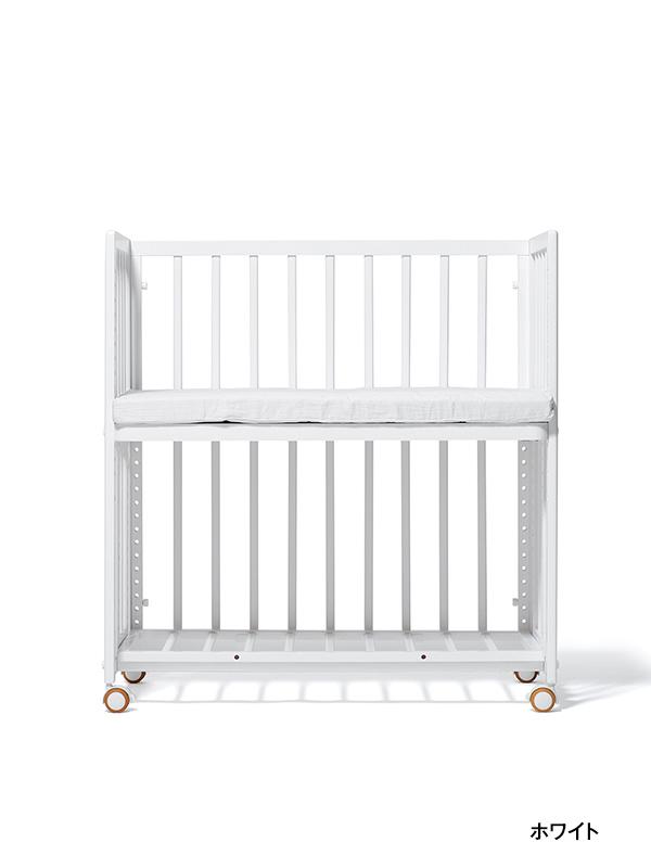 大和屋 yamatoya そいねーる+ムーブ マット付き添い寝ベビーベッド【90×45cm】 ホワイト WH / そねーるプラス 添い寝ベッド フラット コンパクト 赤ちゃん 子供 安全 安心 添い寝ーる+ムーヴ