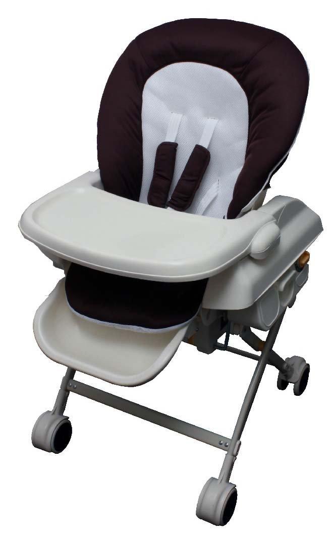 [並行輸入品] 赤ちゃんを寝かせるゆりかごとして お食事用チェアとして ご使用いただけます ハイロースイングラック ダークブラウン JTC 返品交換不可