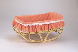 ヨーラン(フリル付)/BB-51NF ラタン 籐 籐家具 涼しい 通気性バツグン 天然素材