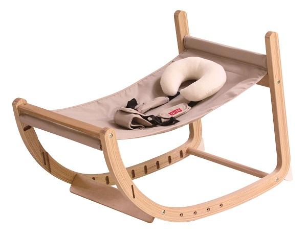 生まれたその日から大人になっても座れる ファルスカ スクロールチェアプラス ナチュラル×ベージュ 746101 ロッキングチェア 商品 ベビーチェア 卸直営 木製 キッズチェア 赤ちゃんから大人まで ダイニングチェア