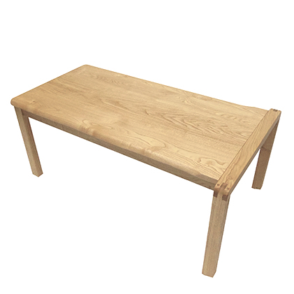 遊木舎 KID02 栗の木テーブル/いす 子供 国産 木製家具 無垢の木 保育園 幼稚園 学童 静岡県 木の香り スタッキング