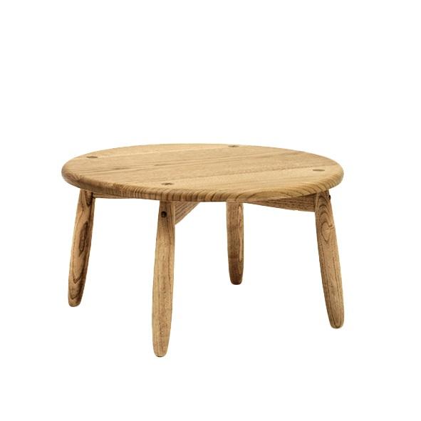 遊木舎 G144 TOY丸テーブル /栗の木 子供 キッズ 台 国産 木製家具 無垢の木 保育園 幼稚園 学童 静岡県 木の香り スタッキング