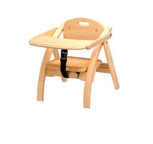 大和屋 アーチ 木製ローチェア NA 【レンタル2ヶ月まで】【 ベビー用品 】【レンタル】