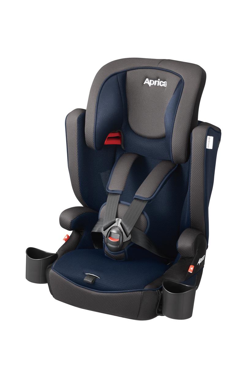 Aprica エアグルーヴ プレミアムAC ブルーノアールNV 2038908 / チャイルドシート AirGroove Premium 【1歳頃から11歳頃まで】ロングユース エアグルーブ 3点式シートベルトのみ