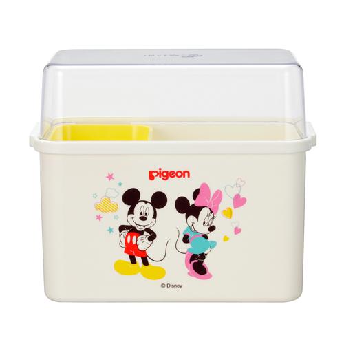衛生的でコンパクトな哺乳びんケース ピジョン ディズニー 超定番 訳あり品送料無料 ミルケース