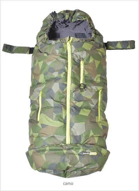 タムラ TAMURA ベビースリーピングバッグ カモWC-BSB0114 / 赤ちゃん 温か フットマフ ひざ掛け お出かけ