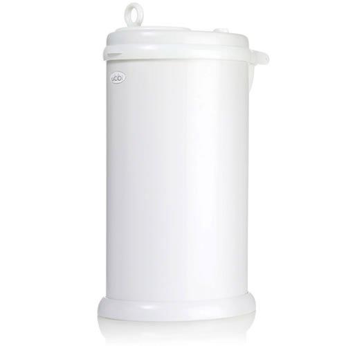 日本育児 Ubbi 【ウッビィ】 インテリアおむつペール ホワイト 1001 / おむつ ゴミ箱 ニオイ対策