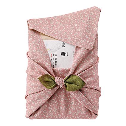 【送料無料】女の子(名入れギフト)NEWおくるみ米(ピンク)【出産内祝 内祝い 御祝 お祝い】【出産祝い お返し 返礼】