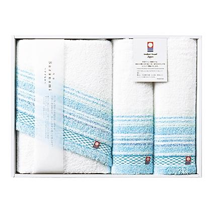 【送料無料】imabari towel(今治タオル)さざなみタオルセット【出産内祝 内祝い 御祝 お祝い】【御中元 御歳暮 母の日 父の日 初節句内祝 入学内祝 お返し 返礼】