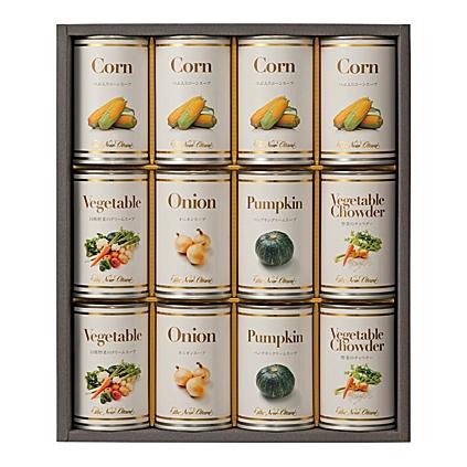 【送料無料】Hotel New Otani(ホテルニューオータニ) スープ缶詰セット【出産内祝 内祝い 御祝 お祝い】【ギフト お返し】