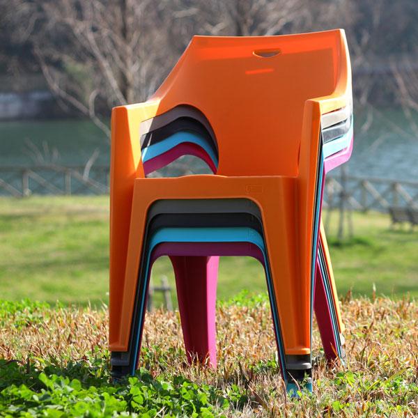 ガーデンチェア スタッキングチェア 屋外チェア アウトドア ガーデン用イス モダン 椅子 チェア 同色4脚セット ♪