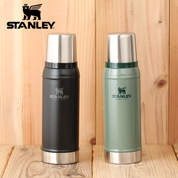 Stanley classical music vacuum bottle 0 75L [STANLEY 0 75 liters stainless  steel bottle preservation thermal insulation cold storage thermos water