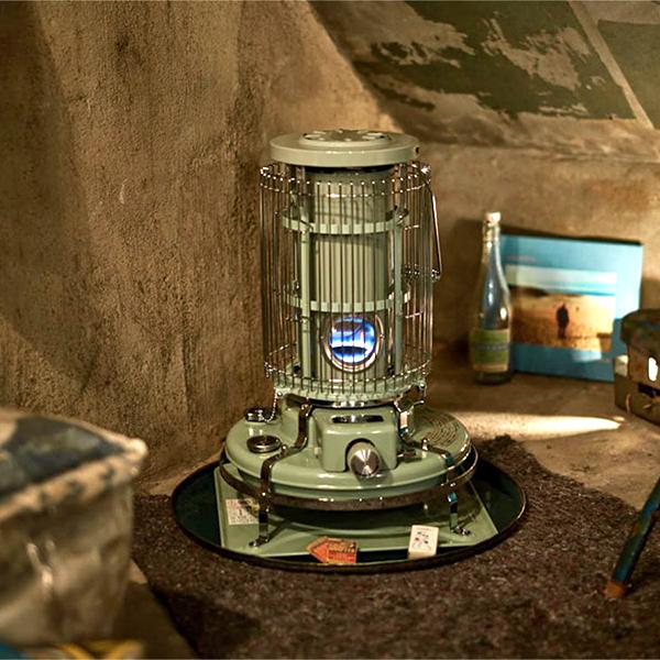 アラジン ブルーフレームヒーター ストーブ BF3911 グリーン 日本製 家電 レトロ Aladdin 暖房器具 暖房機器 bf3911-g