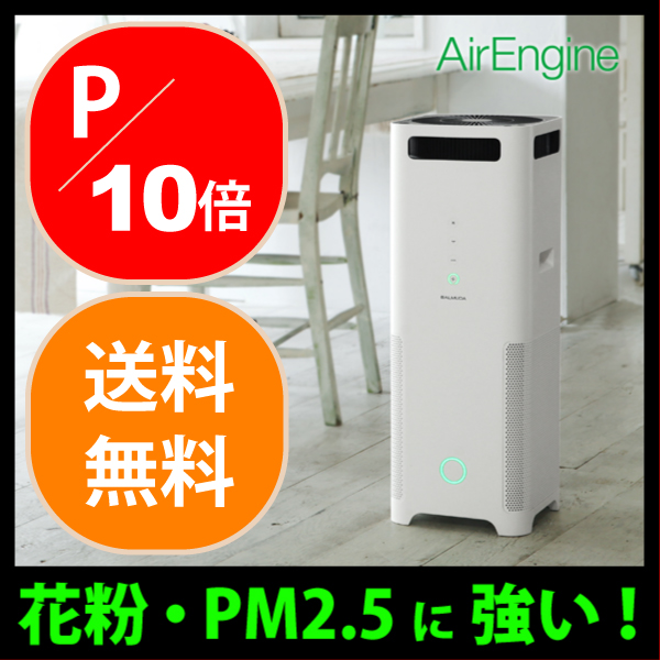 For air engine air cleaner EJT-1100SD-WK[PM2.5 measures, pollen measures latest AirEngine バルミューダ ](/ point up to 19 times) of the jet clean