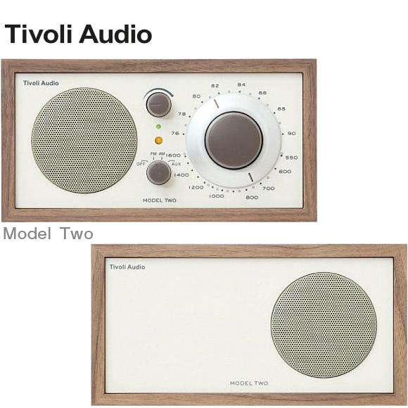 【クーポン利用で10%OFF】チボリオーディオ tivoli audio MODEL two (チボリオーディオ モデルツー) [ テーブルラジオ ]