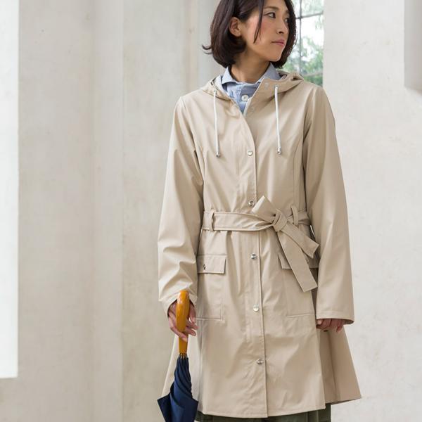 RAINS rains cover curve Curve Jacket raincoat