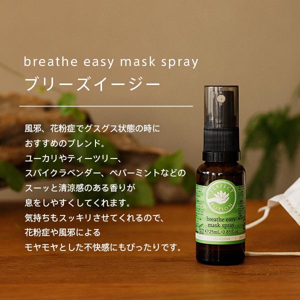 Recenty mask spray 25 ml [PERFECT POTION pollen breathe easy mask aroma], [HLS_DU]