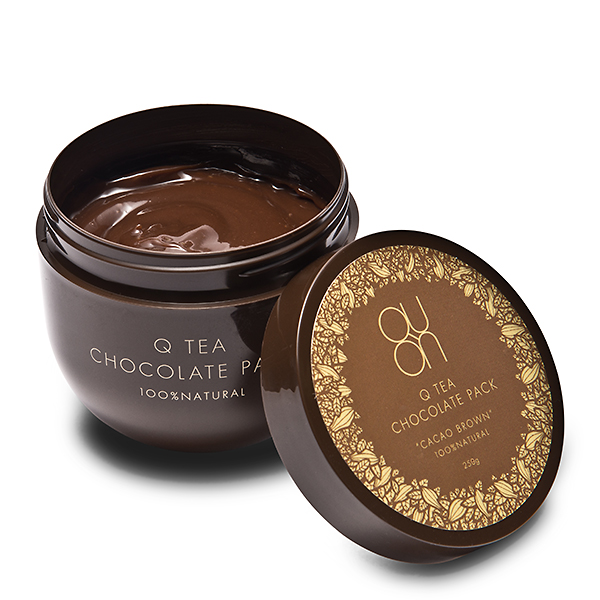 QUON quon Cutie chocolate Pack cacao Brown 250 g [QUON quon cacao brown skin care face care Pack, 10P05Dec15