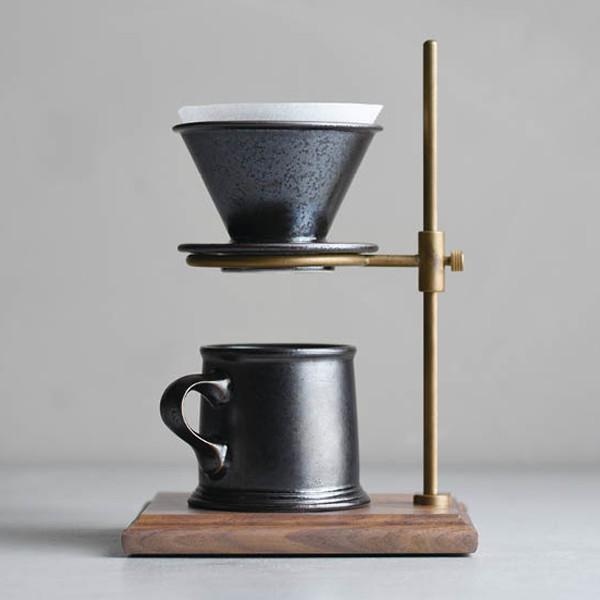 Kyn toe SCS-S01 mug 220 ml black beige (SLOW COFFEE STYLE SPECIALTY 01) [hit coffee / mug cup / cafe / hand drip coffee /KINTO/ coffee /27525 27527]
