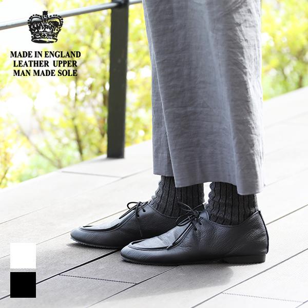 【クーポン利用で10%OFF】クラウン CROWN エプロンジャズシューズ APRON JAZZ 英国製 レザーシューズ 靴 トラベル レディース