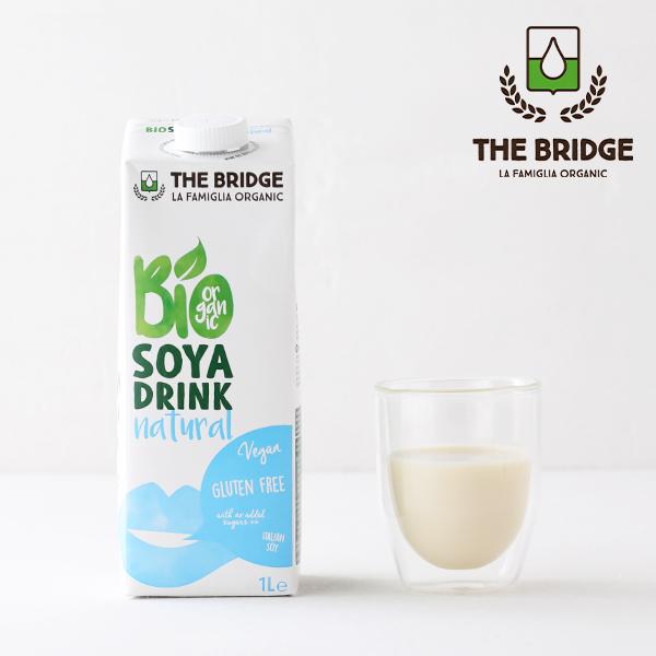 クセがなくて飲みやすい ソイミルク ブリッジ THE BRIDGE ソイドリンク 1L 植物性ミルク 大豆 低脂肪 低カロリー コレストロールフリー 有機JAS 1000ml 爆買いセール オーガニック 乳製品不使用 大好評です ヘルシー 有機大豆