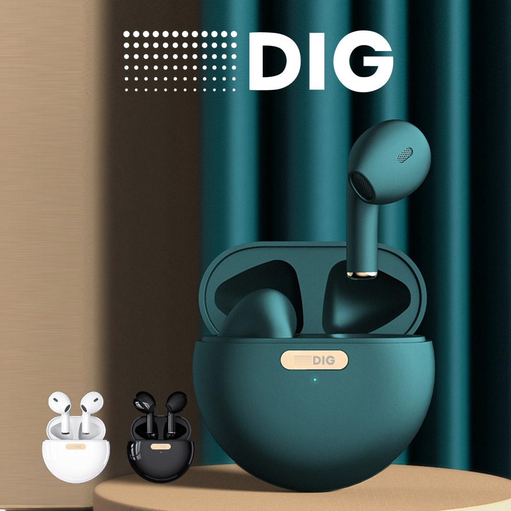 【DIG ディグ / DAY ONE D1】ワイヤレスイヤホン Bluetooth イヤホン Bluetooth5.0 おしゃれ ブルートゥース イヤホン 完全ワイヤレスイヤホン 自動ベアリンク 左右分離型 通話 音楽 iphone Android 対応 完全ワイヤレスイヤホン マイク付き 高音質 AAC TypeC接続口