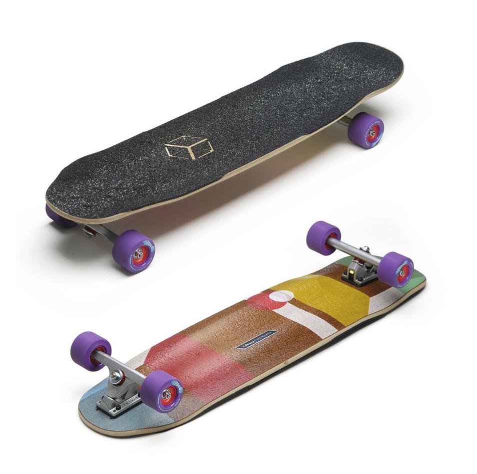 LOADED BOARDS [ Cantellated Tesseract Complete @50760] ローデッドボード 安心の正規品 ロング スケート 【正規代理店商品】