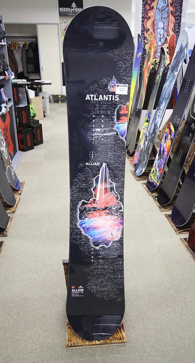 ALLIAN SNOWBOARD 【 ATLANTIS @73440】 アライアン スノーボード 安心の正規輸入品
