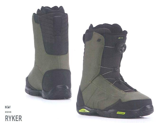 K2 SNOWBOARDING BOOTS [ RYKER @42120] ケイツー ブーツ 安心の正規輸入品 【送料無料】