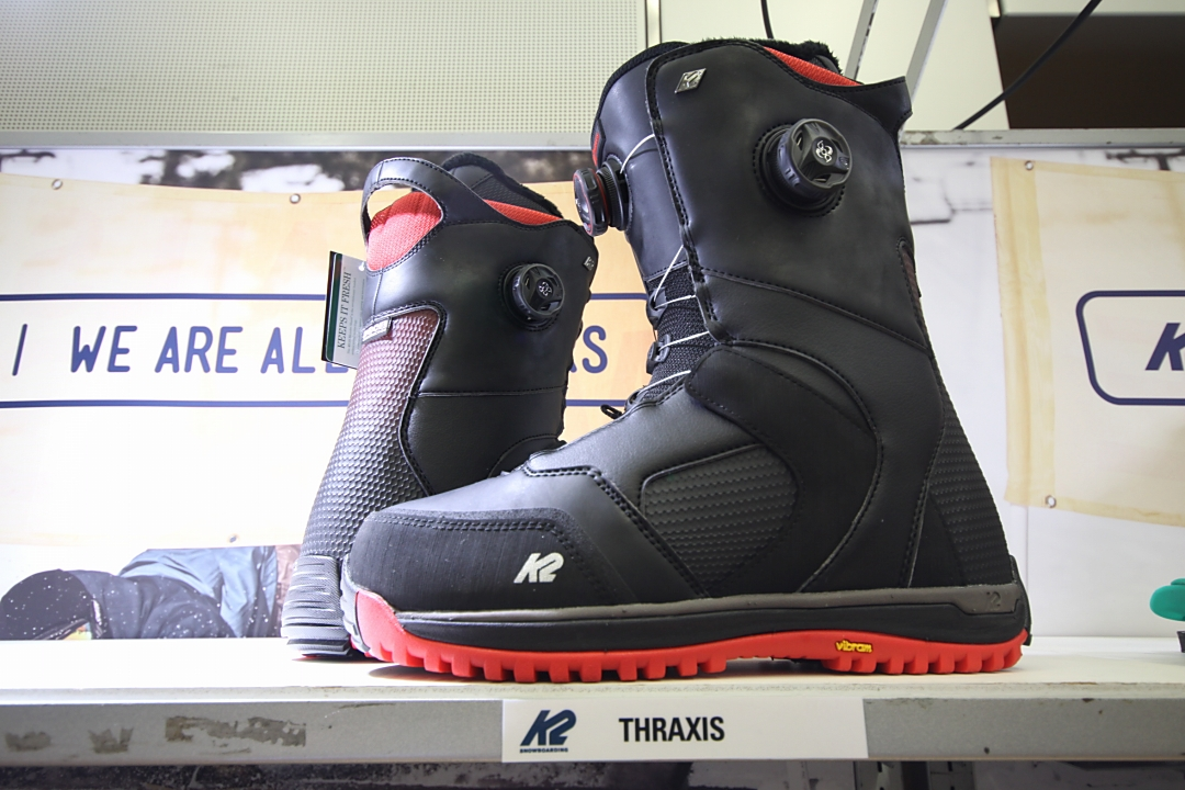 K2 SNOWBOARDING BOOTS [ THRAXIS @62640] ケイツー ブーツ 安心の正規輸入品