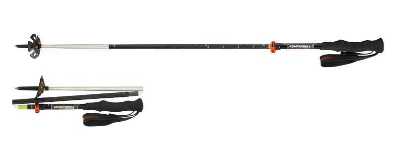 komperdell pole [ カーボン ウルトラライト VARIO4 コンパクト@32500 ] コンパーデル ポール ウォーキング 用【正規代理店商品】