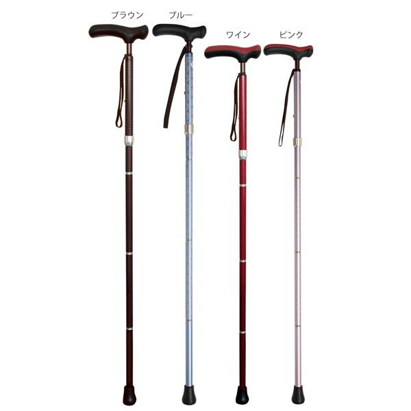 sinano stick [カイノス 抗菌楽ーダ 折り畳み(国産)]シナノ 歩行杖・ステッキ KAINOS 15%OFF 【送料無料】