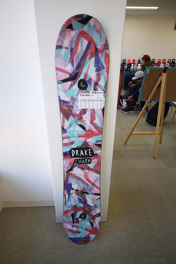 DRAKE SNOWBOARDS [ CHARM @54000 ] ドレイク ウーメンズ スノーボード 安心の正規輸入品【送料無料】