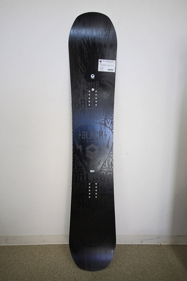 FTWO SNOWBOARDS [ BLACKDECK LTD @79920 ] OS Double Camber スノボ スノーボード