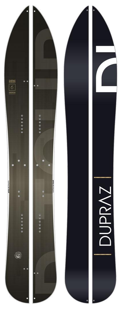 DUPRAZ SNOWBOARDS [ 6' D-TOUR SPRIT BOARDS @156600] デュプラス スノーボード 安心の正規品