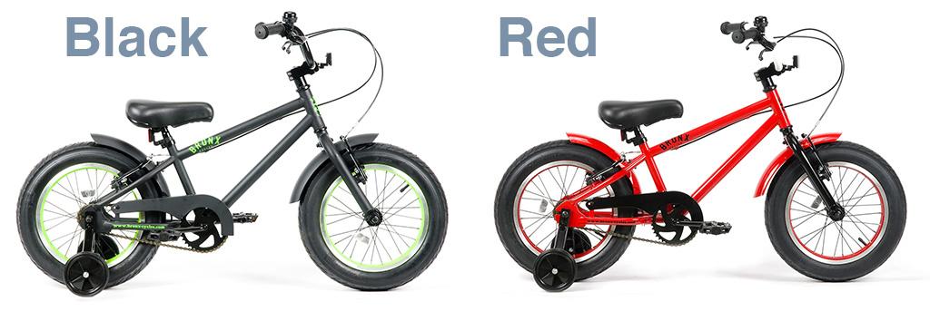 【 16インチ BRONX 3.0 FAT BIKE @28080 】 ブロンクス ファットバイク 子供用 ジュニア 【 自転車 サイクル 】【正規代理店商品】