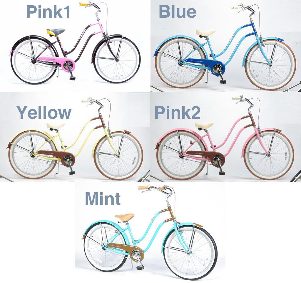 【 Rainbow BEACH CRUISER 26 inch LADIES @30240】 レインボー ビーチクルーザー 26 インチ レディース 【 自転車 サイクル 】【正規代理店商品】