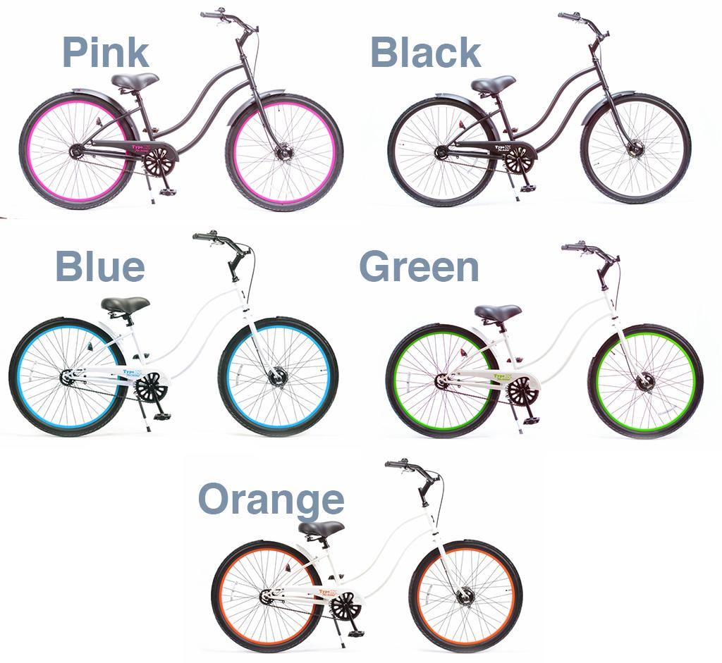 【 Rainbow BEACH CRUISER 26 inch LADIES Type-X @27000】 レインボー ビーチクルーザー 26 インチ レディース Type-X 【 自転車 サイクル 】