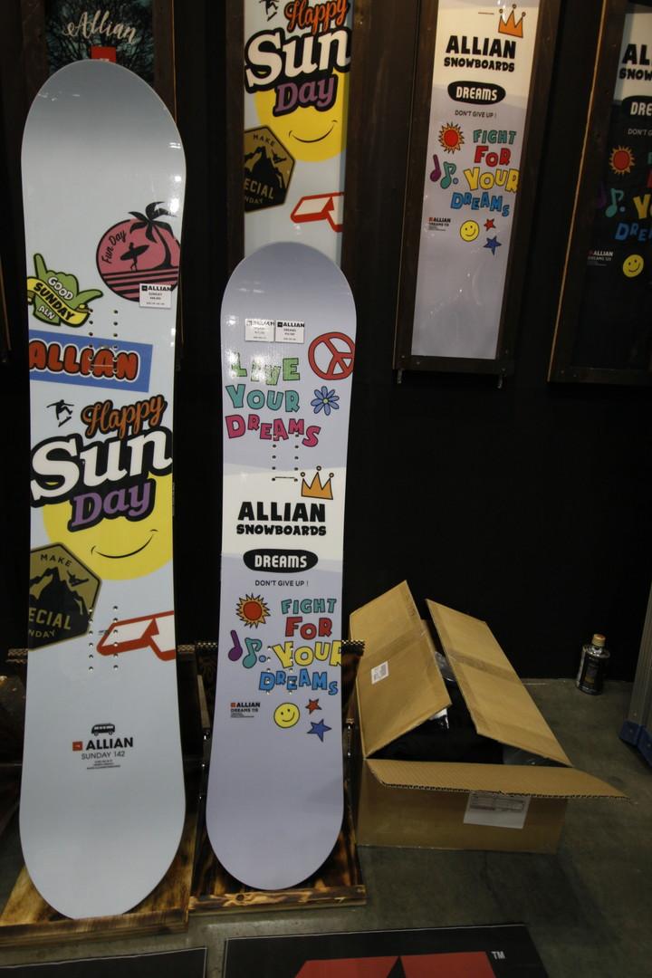 ALLIAN SNOWBOARD 【 DREAMS 105~115cm @24840】 アライアン キッズスノーボード 【正規代理店商品】【送
