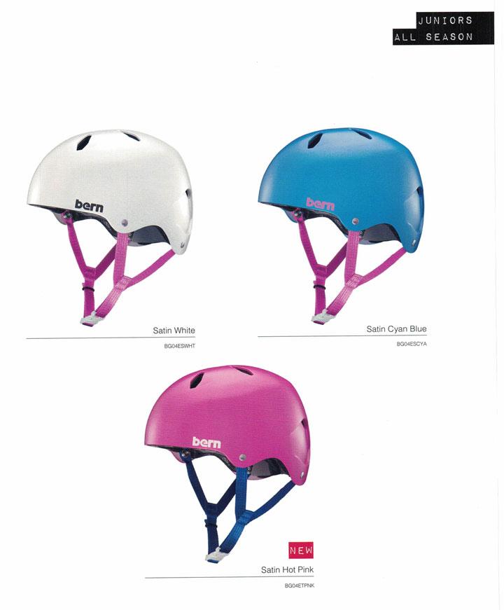 【ジュニア用】 bern (バーン)ヘルメット [ DIBLA HELMET @10260] オールシーズンジュニアGIRL用 2017/18モデル