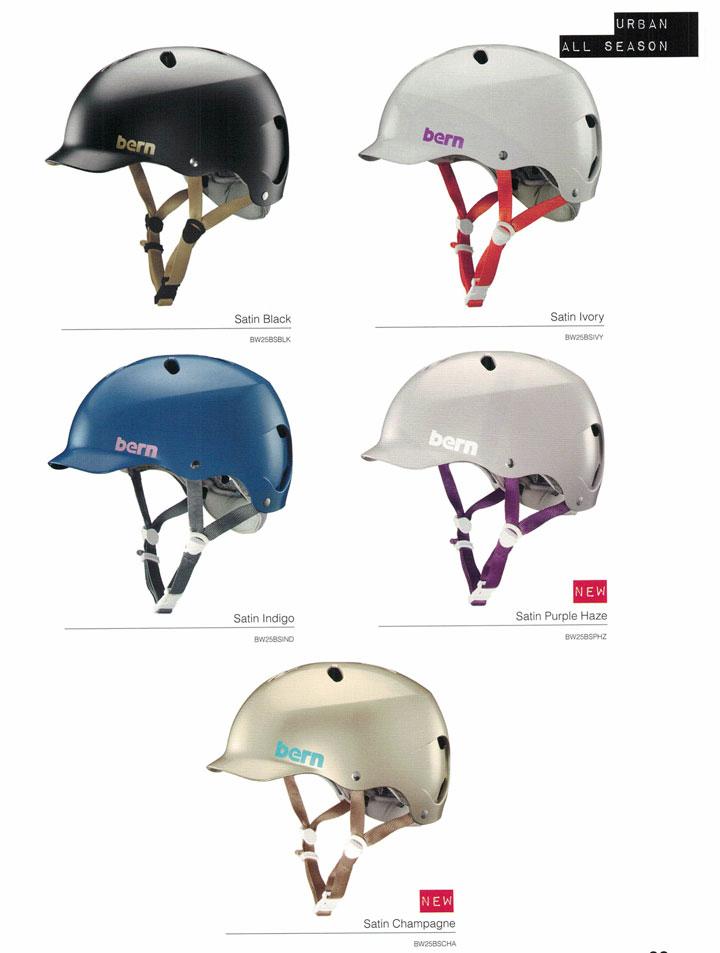 【ジャパンフィット】 bern (バーン)ヘルメット [ LENOX HELMET JAPAN FIT @10584] オールシーズンタイプ 2017/18モデル