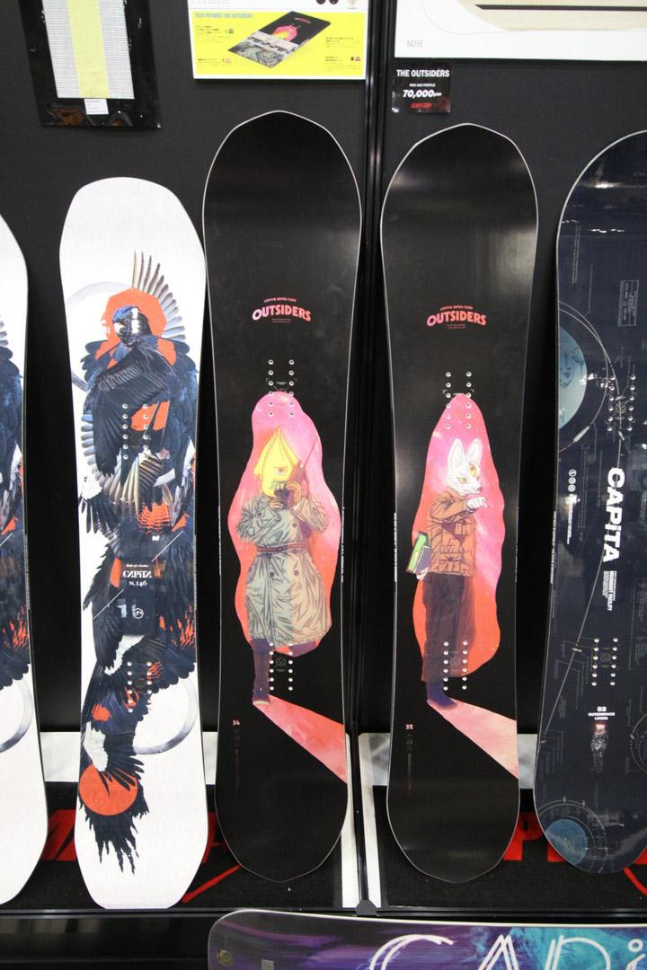 CAPITA SNOWBOARDS [ THE OUTSIDERS @75600 ] キャピタ スノーボード 【正規代理店商品】【送料無料】