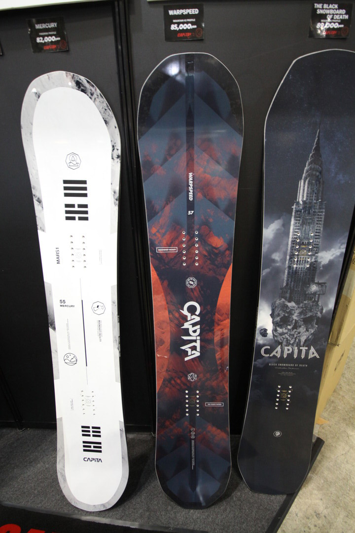 CAPITA SNOWBOARDS [ WARPSPEED @91800 ] キャピタ スノーボード 【正規代理店商品】【送料無料】