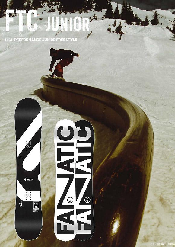FANATIC SNOWBOARDS [ FTC JUNIOR @60480 ] POP Camber ファナティック スノーボード 【正規代理店商品】【送料無料】