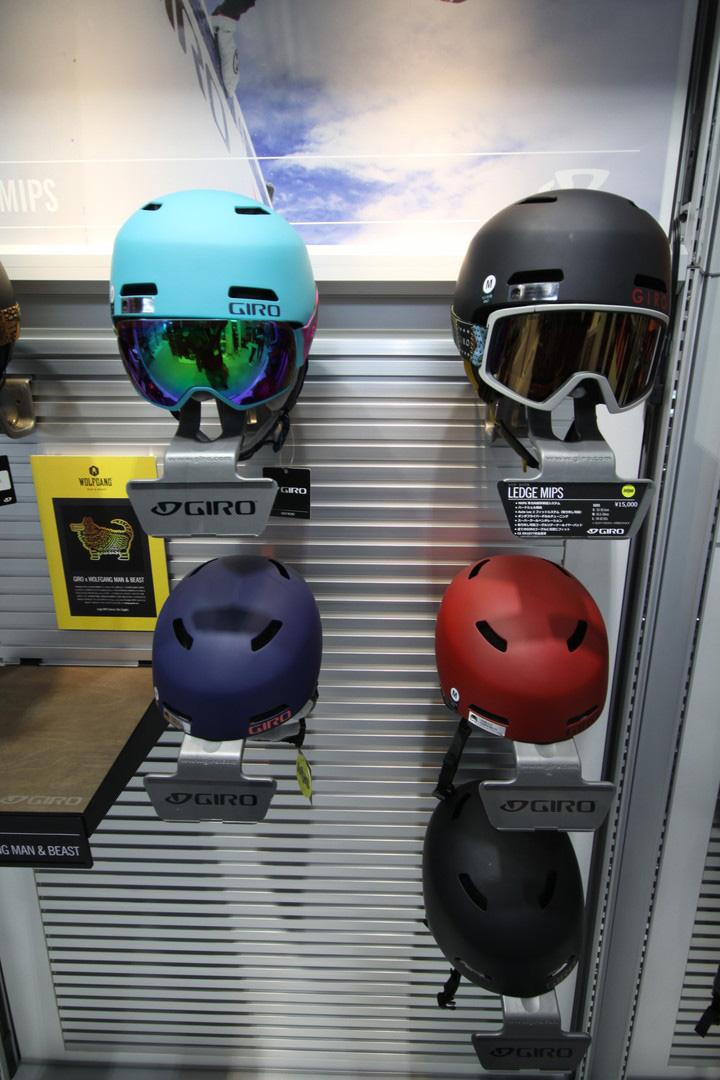 GIRO SNOW HELMET [ LEDGE MIPS @16200] ジロ ヘルメット 安心の正規輸入品 【送料無料】