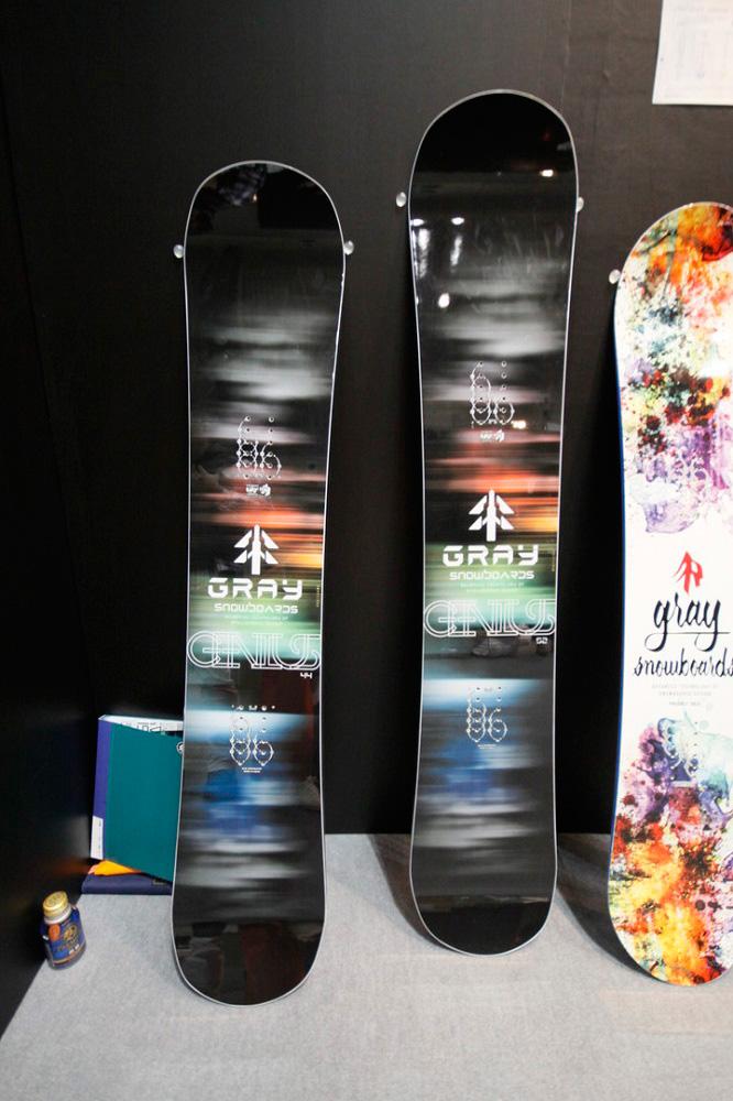 GRAY SNOWBOARDS [ GENIUS @96120] グレイ スノーボード 安心の正規品【送料無料】