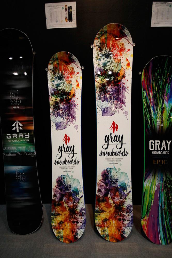 GRAY SNOWBOARDS [ PRODIGY @96120] グレイ スノーボード 安心の正規品【送料無料】