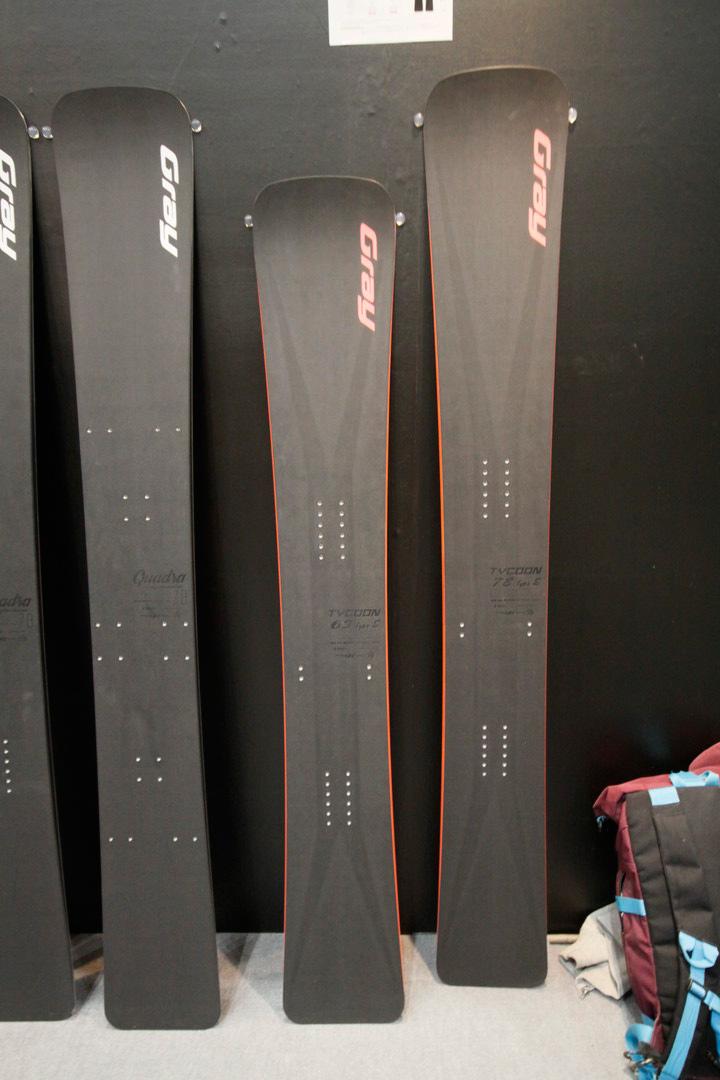 GRAY SNOWBOARDS [ TYCOON Type S 178cm @160920] グレイ スノーボード 安心の正規品【送料無料】